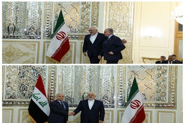 Iraqi FM meets with Zarif in Tehran