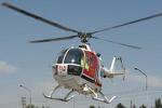 انتقال کودک ۷ ماهه مجروح تصادف رانندگی با بالگرد در لرستان