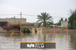 لحظه ورود سیلاب به تهران