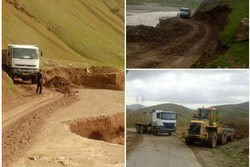 راه ۳۰ روستا در سه بخش شهرستان نورآباد لرستان بازگشایی شد