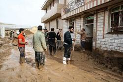 فعالیت ۲ هزار دانشجو در مناطق سیل زده در قالب اردوهای جهادی