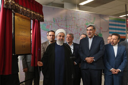 Tehran metro line 6 partially inaugurated