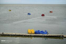 Heavy rainfalls revive drying Lake Urmia