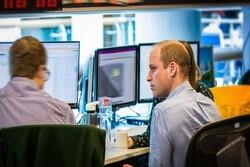 برطانوی شہزادہ ولیم کا برطانوی خفیہ ایجنسیوں  کے ساتھ کام