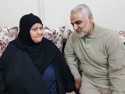 سردار سلیمانی در منزل شهید علی هاشمی حضور یافت