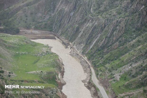 Relief, rescue services underway in flood-hit areas in Lorestan prov.