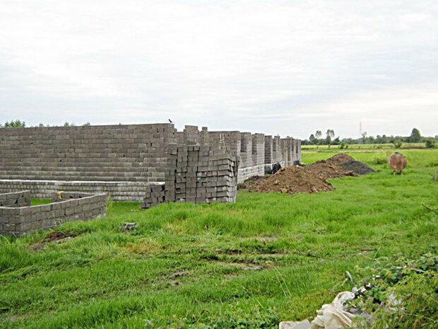 طرح توسعه اراضی شیبدار در ۱۴۲هکتار از اراضی کشاورزی قزوین اجرا شد