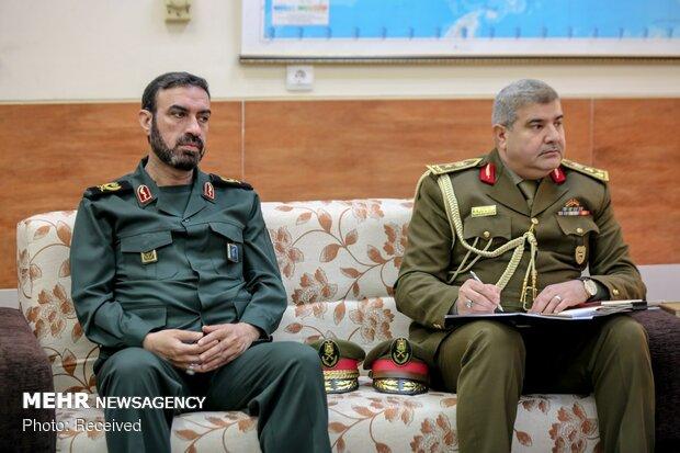 دیدار رئیس ستاد مشترک ارتش عراق با سرلشکر باقری
