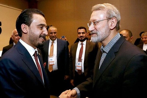 Iranian, Iraqi parl. speakers emphasize on expanding bilateral coop.