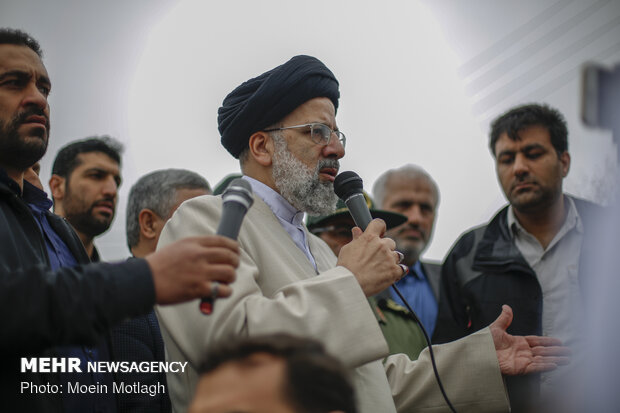 Judiciary chief visits flood-hit Golestan prov.