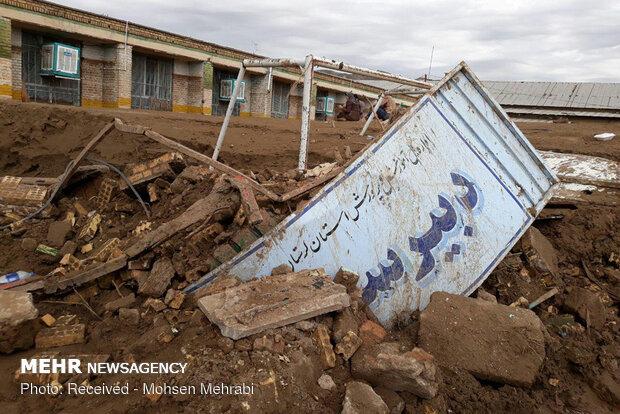 هیچ یک از مدارس تخریبی در سیل لرستان برای مهرماه آماده نمیشوند