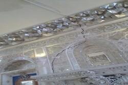 زخم های کاری بر پیکره عمارت تاریخی/رحیم آباد چشم انتظار بودجه است