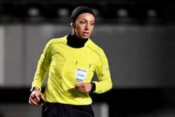 Iranian female football referees to officiate Olympics qualifiers