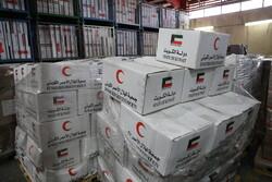 ارسال کمک های اهدایی کشورهای مختلف به سیل زدگان