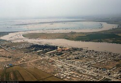 Torrenial rain has resulted in flood in southwestren province of Khuzestan