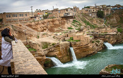 A view of the UNESCO-tagged Shushtar Historical Hydraulic System in southwest Iran.