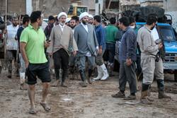سازمان تبلیغات اسلامی کے سربراہ کا سیلاب سے متاثرہ علاقوں کا دورہ