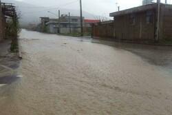 سیلاب به جادههای ۱۵ روستای بخش مرکزی میامی خسارت زد
