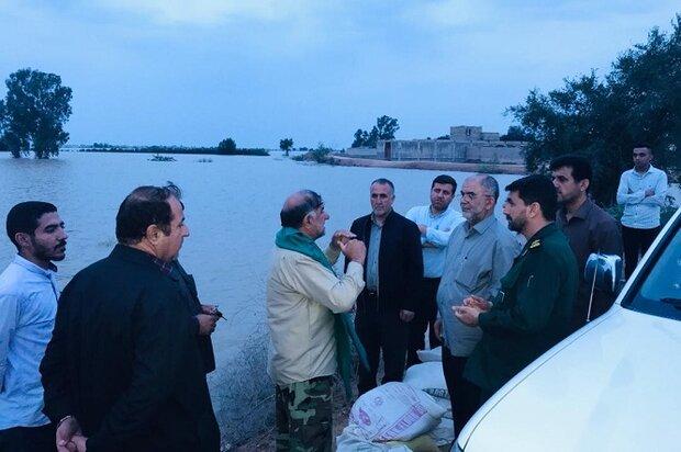 بوشهر معین شهرستان باوی خوزستان شد/ ساخت سیلبند و ارائه خدمات