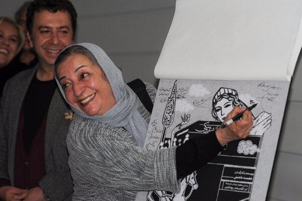 آغاز اجرای نمایش «سیمین و فرزان» در تالار قشقایی