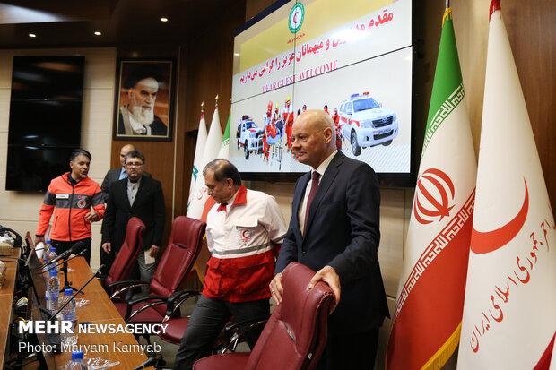 İran'a insani yardım