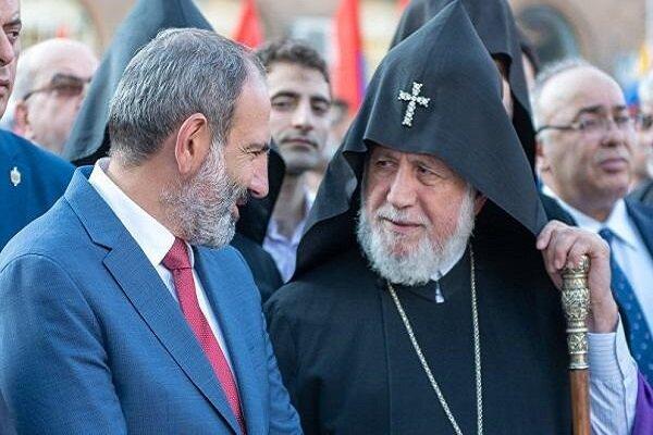Ermeni dini lideri II. Karekin Dağlık Karabağ'da