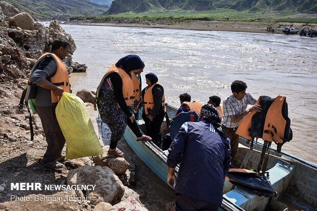 امداد رسانی به روستای «چم مهر»