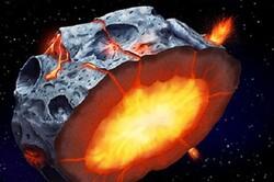 سیارکهای اولیه آتشفشان های پرتابگر آهن بوده اند