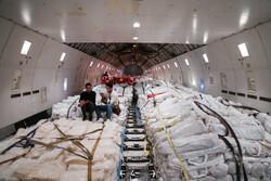 ورود نخستین محموله کمکهای موکب های اربعین عراقی از مرز شلمچه
