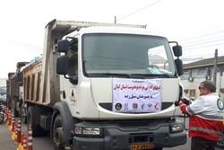 چهارمین کاروان کمکهای مردمی گیلان به مناطق سیل زده ارسال شد
