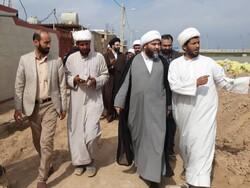 رئیس سازمان تبلیغات اسلامی در مناطق سیل زده خوزستان حضور یافت