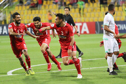 Iran's Perspolis beats S Arabia's Al-Ahli 2-0 at AFC Champions League