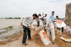امداد رسانی به ۸ روستا سیل زده دزفول
