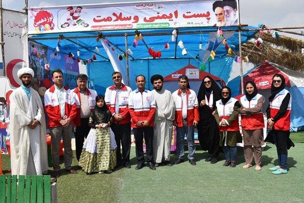 هلال احمر استان بوشهر به ۹۶ هزار مسافر نوروزی خدماتدهی کرد