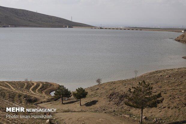 حجم سد اکباتان همدان به بیش از ۲۷ میلیون متر مکعب رسید