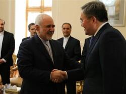 معاون اول وزیر خارجه قزاقستان با ظریف دیدار کرد