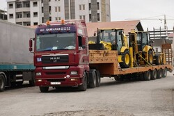 کمک های جمهوری آذربایجان برای مناطق سیل زده