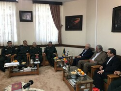 Zarif, his deputies meet top IRGC commanders