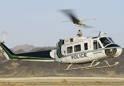 Police helicopter crashes in northwest Iran