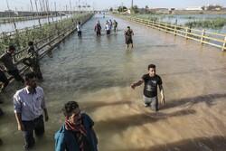 مسیر جریان رودخانه های خوزستان در حال کنترل است
