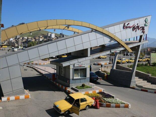 یک میلیون نفر مسافر از طریق پایانه های مسافربری سنندج جابجا شد