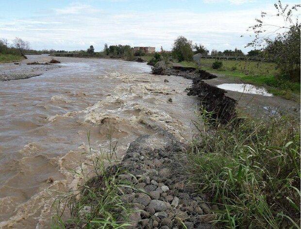 احتمال سیلاب در کلاله/ تخلیه منازل حاشیه رودخانه ها
