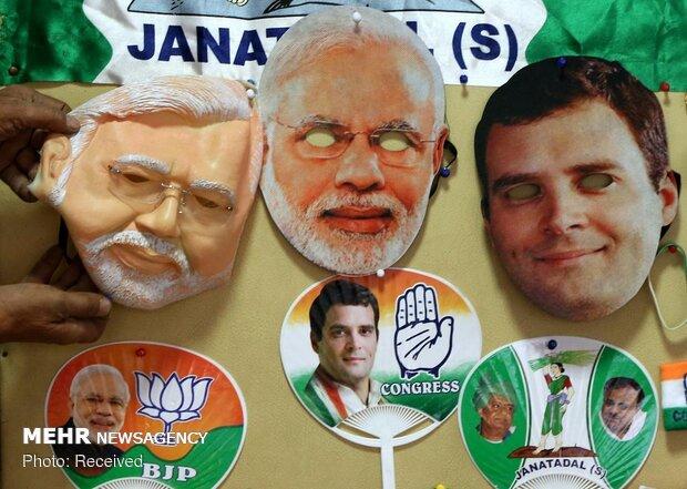 رقابت های انتخاباتی در هند