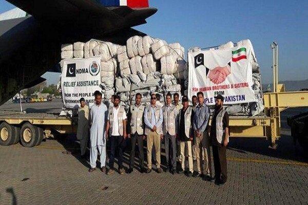 Pakistan dispatches humanitarian assistance to flood-hit Iran