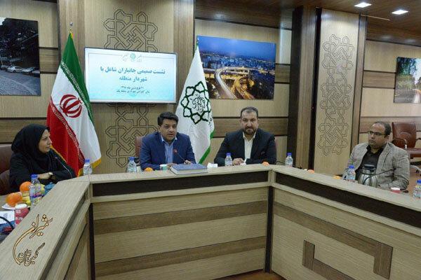لزوم مناسب سازی معابر جهت تردد جانبازان و معلولین در شمال تهران