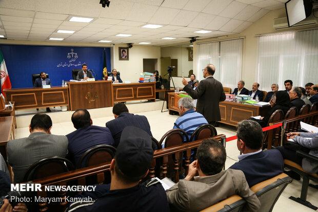 سومین جلسه دادگاه متهمان پرونده پتروشیمی