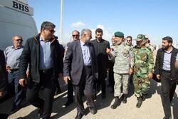 جنرل سیاری اور جنرل حیدری کا صوبہ خوزستان کے سیلاب سے متاثرہ علاقوں کا دورہ