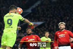 پیروزی بارسلونا در خانه منچستریونایتد
