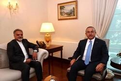 İran'ın Ankara Büyükelçisi, Çavuşoğlu'yla görüştü