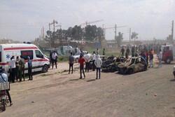 İran'da Zincirleme Trafik Kazası